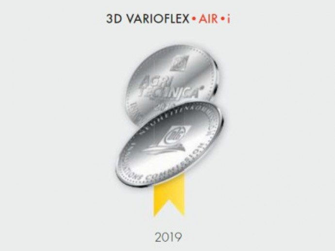 BISO 3D – MEDAL FOR 3D VARIOFLEX•AIR•i